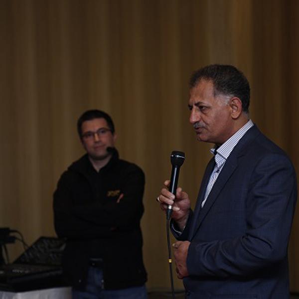 سخنرانی آقای سلیمان نژاد رئیس اتحادیه صوت و تصویر مشهد